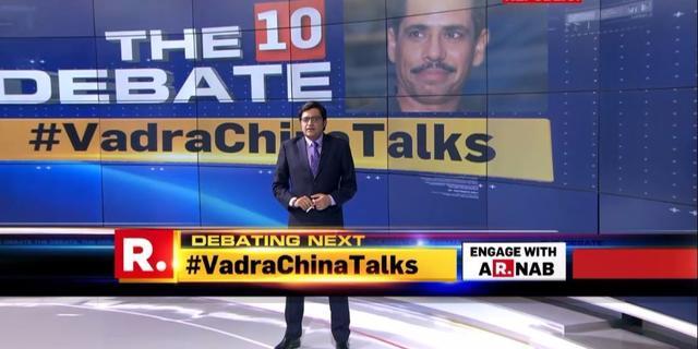 #VadraChinaTalks