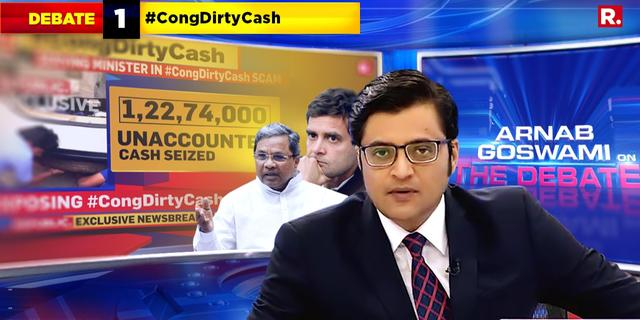 Cong Dirty Cash Exposed