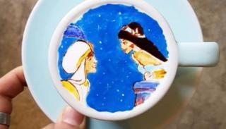 Aladdin: Genie, I wish for your freedom.  (Image: @leekangbin91 on Instagram)