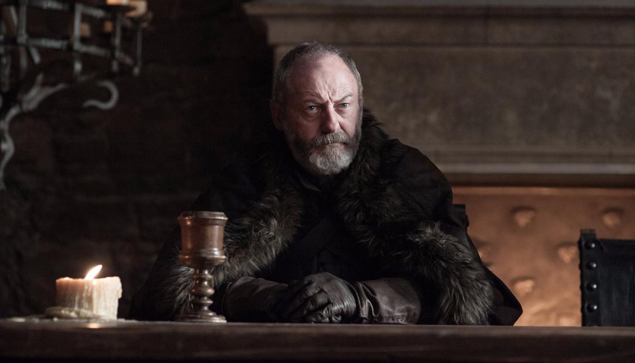 Ser Davos Seaworth will be on Jon Snow's side, we imagine (HBO)