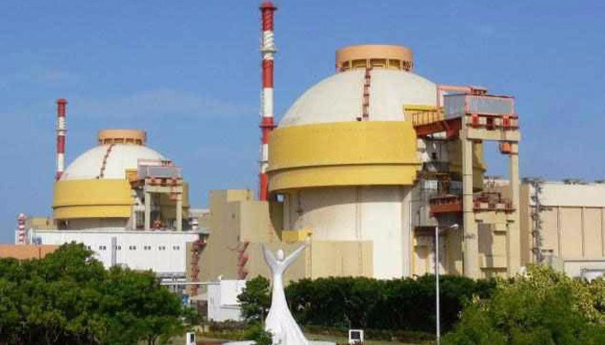Units 1 and 2 of the Kudankulam Nuclear Power Plant (PTI Image)