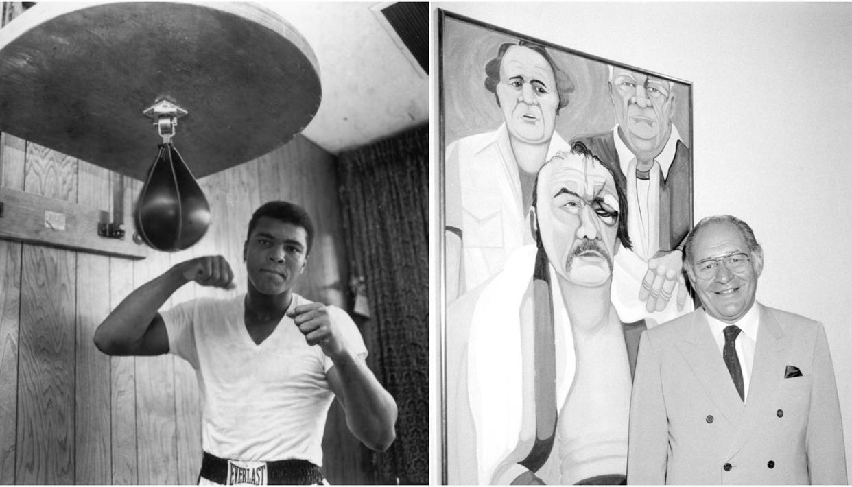Muhammad Ali and  Fernando