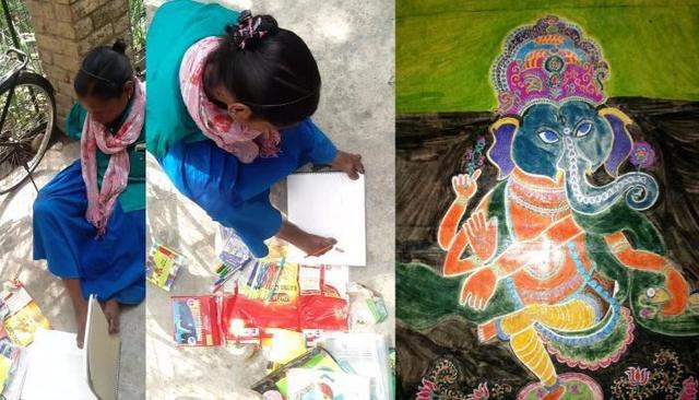 Anjana Malik, the handless artist fighting against all odds is pure inspiration