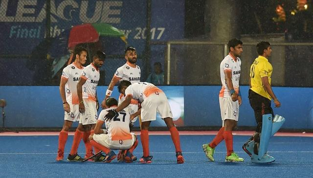 INDIA BOW OUT