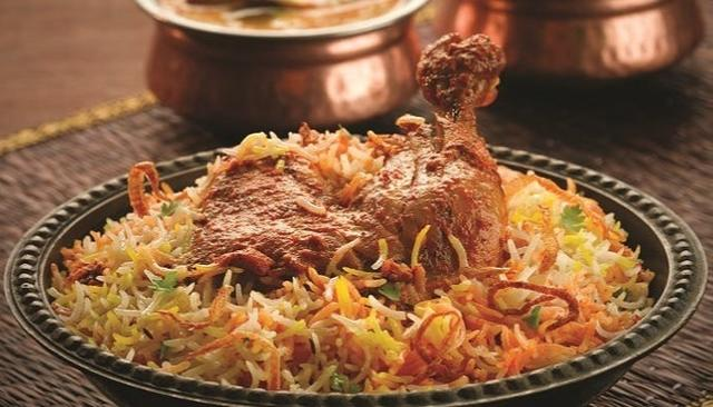 BIRYANI THE MOST ORDERED