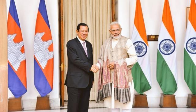 INDIA-CAMBODIA INK 4 MoUs