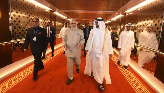 INDIA, UAE INK 5 PACTS