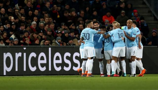 MAN CITY STEAMROLL PAST BASEL