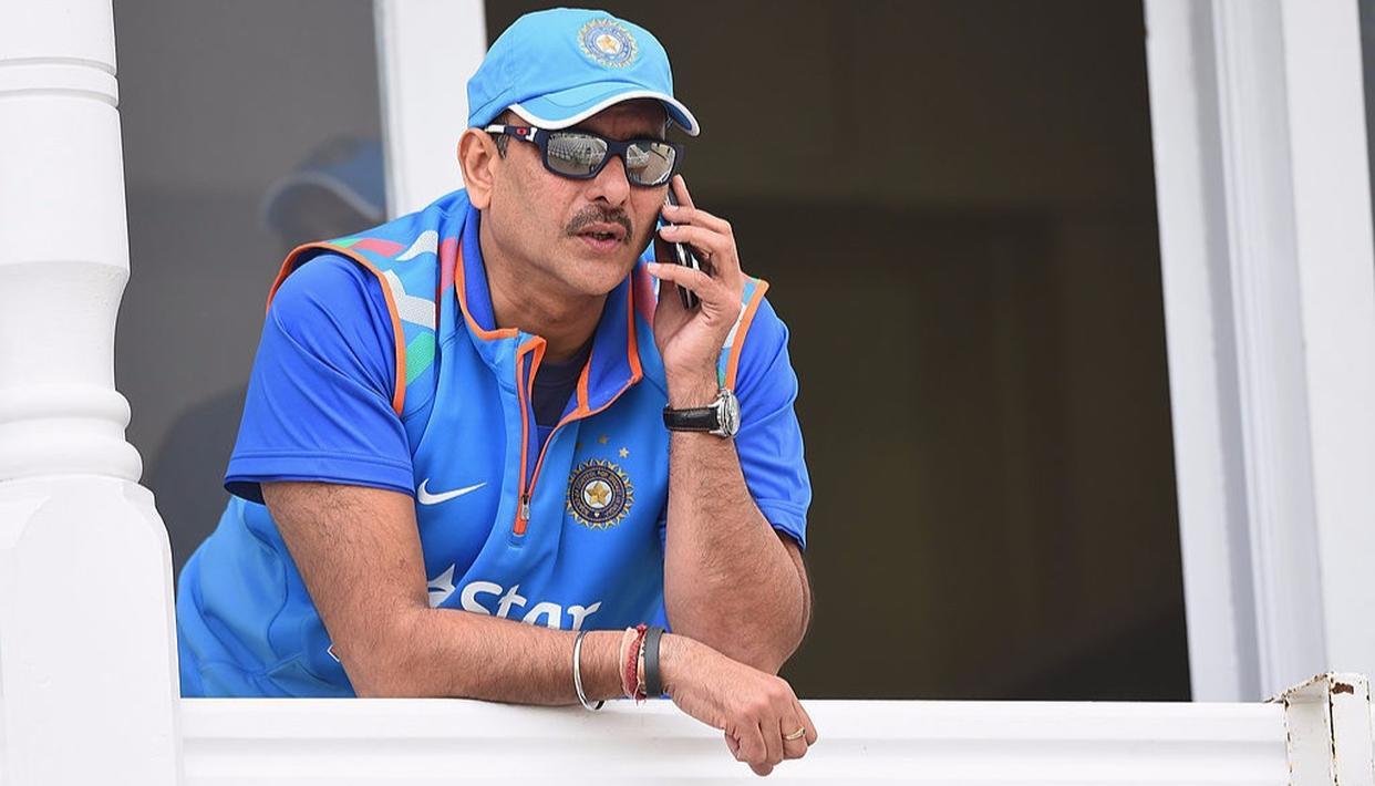 Ravi Shastri Throws in his Hat