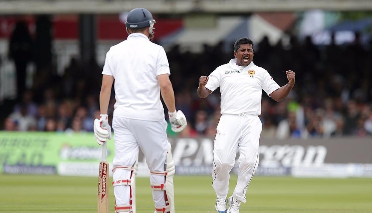 Sri Lanka's Rangana Herath ruled out of the final Test at Pallekele