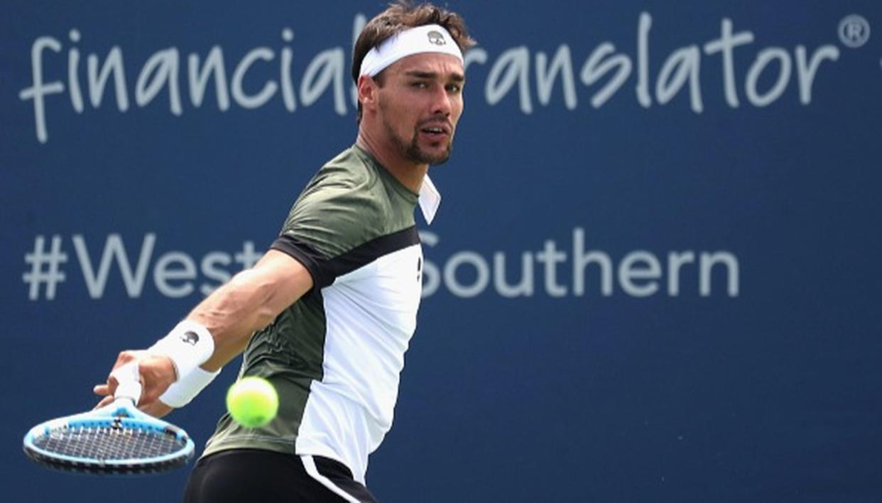 US Open: Fognini kicked out of doubles for unsportsmanlike conduct in singles
