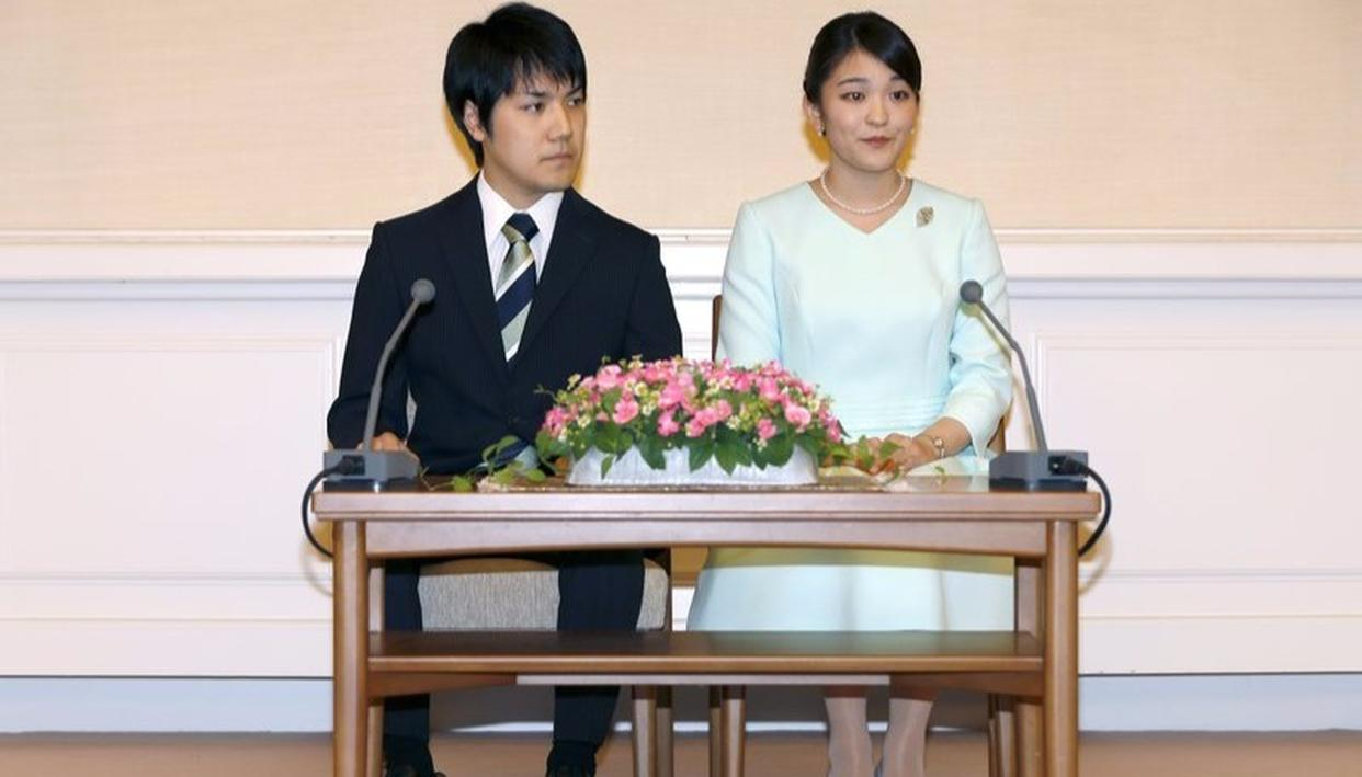Fairytale come to true for Japanese princess