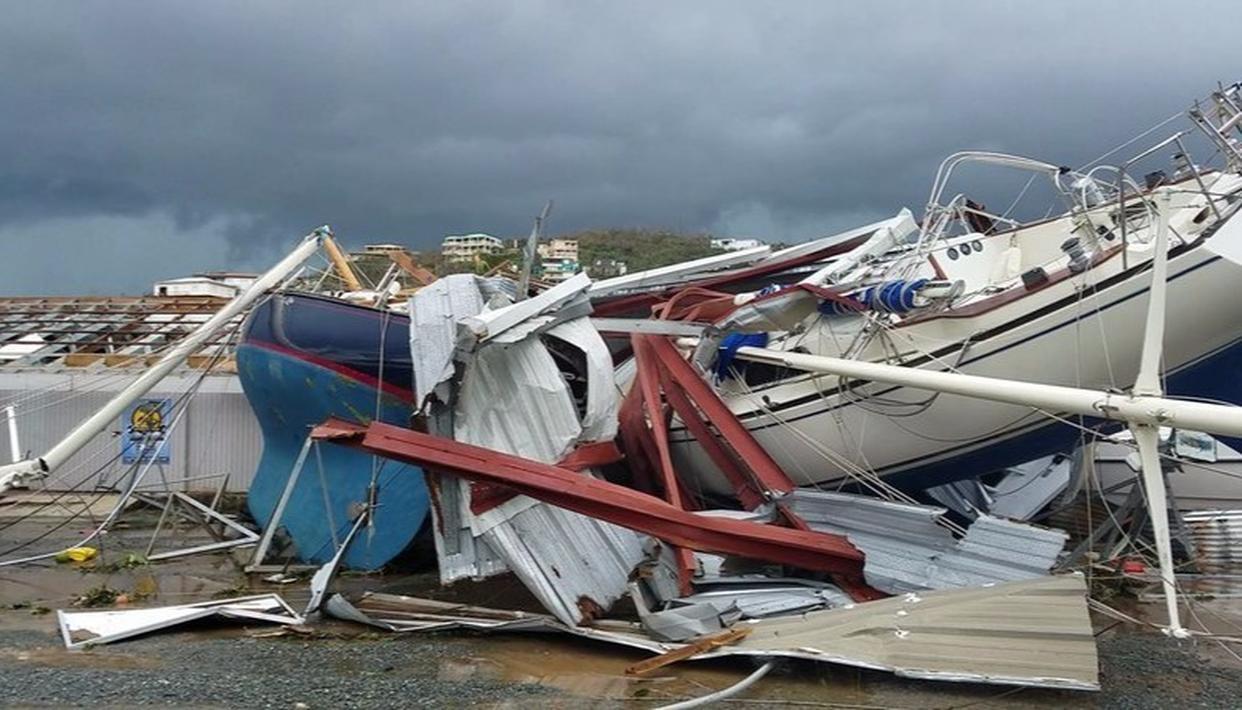 Hurricane Irma left at least 20 people dead