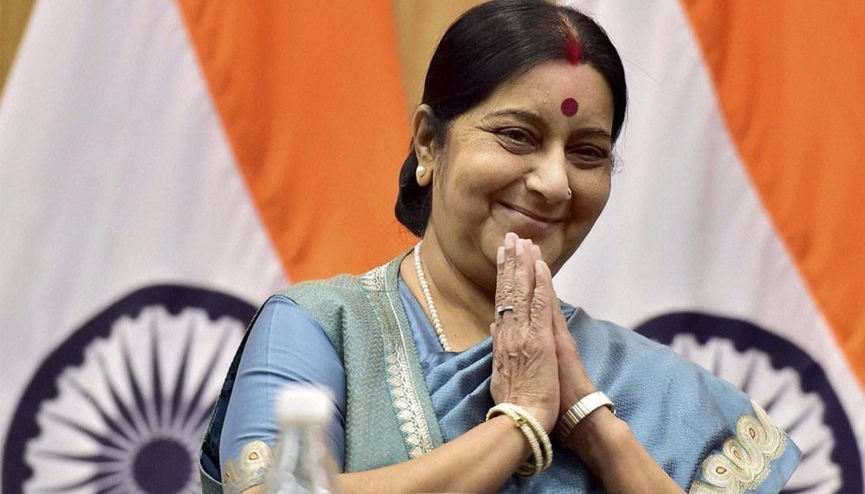 EAM SWARAJ COMES TO THE RESCUE FOR ANOTHER AILING PAKISTANI CHILD