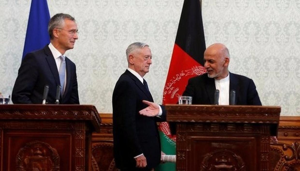 Taliban's target were James Mattis and Jens Stoltenberg