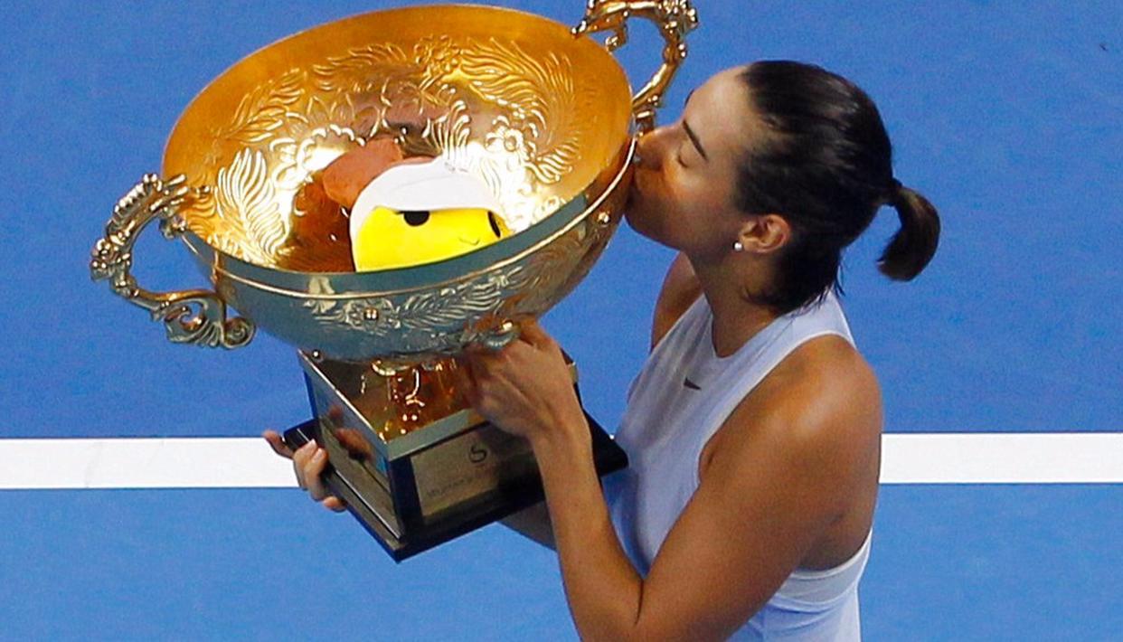 Caroline Garcia wins China Open!