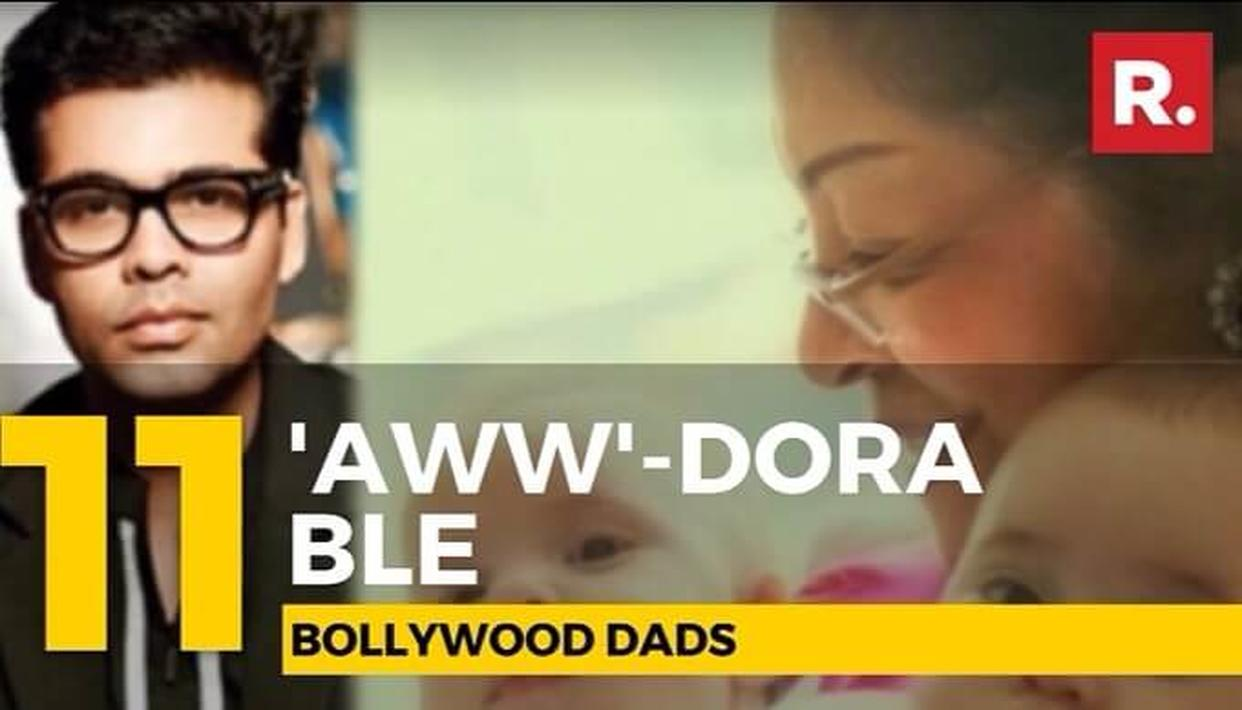 WATCH | 'Aww'-dorable Dads of Bollywood