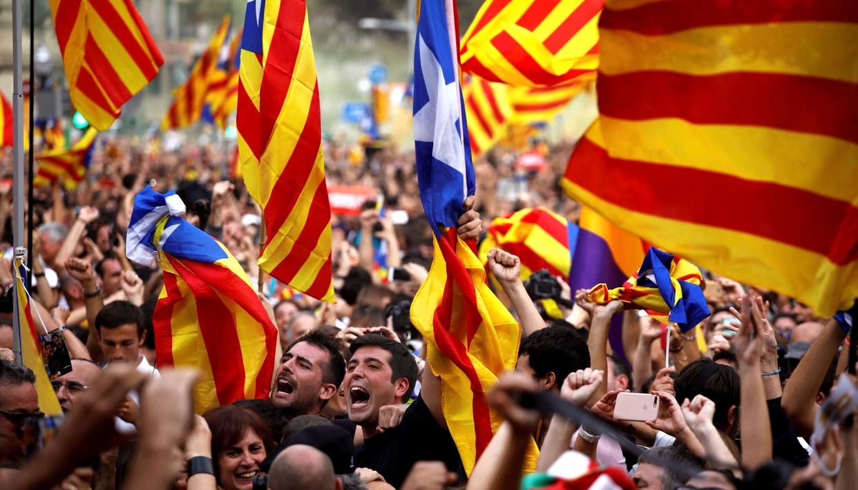 Catalonia declared its independence from Spain