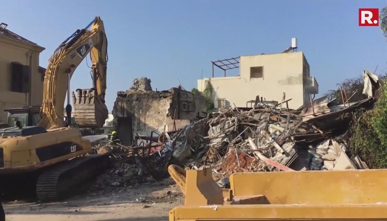 EXPLOSION IN ISRAELI PORT CITY OF JAFFA