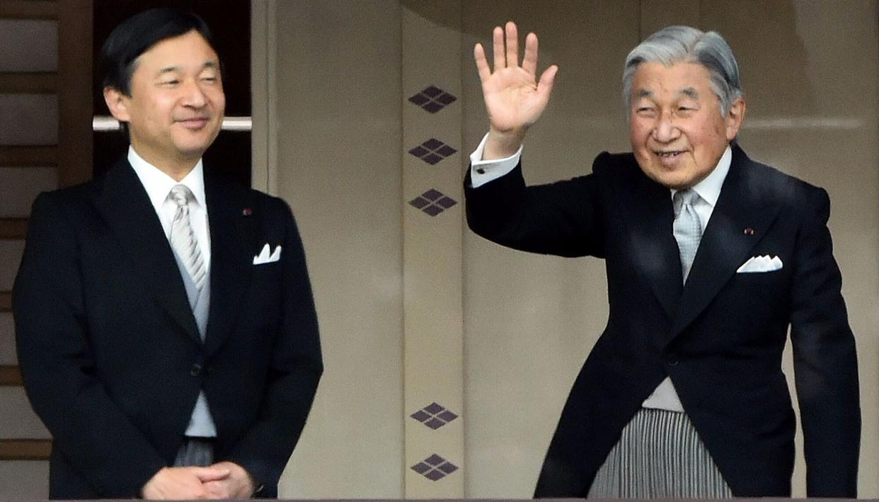 JAPAN'S EMPEROR TO ABDICATE