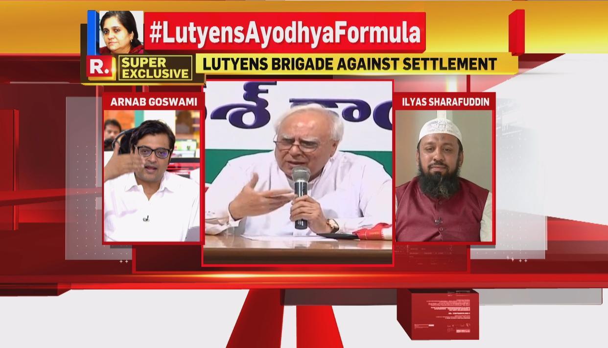 ARNAB DEBATES ON #LutyensAyodhyaFormula
