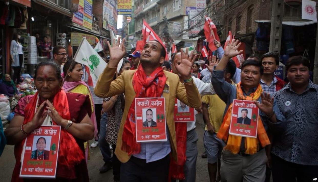 ELECTION SEASON IN NEPAL