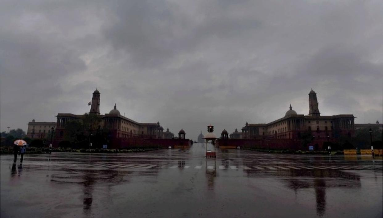 WINTER RAINS DECREASE DELHI POLLUTION