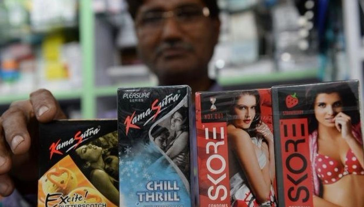 GOVT LAUDED OVER CONDOM ADS