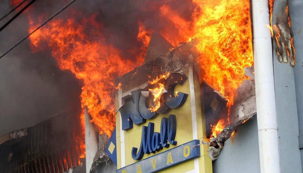 PHILIPPINE MALL FIRE