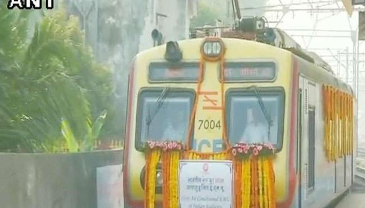 भारत की पहली एसी लोकल