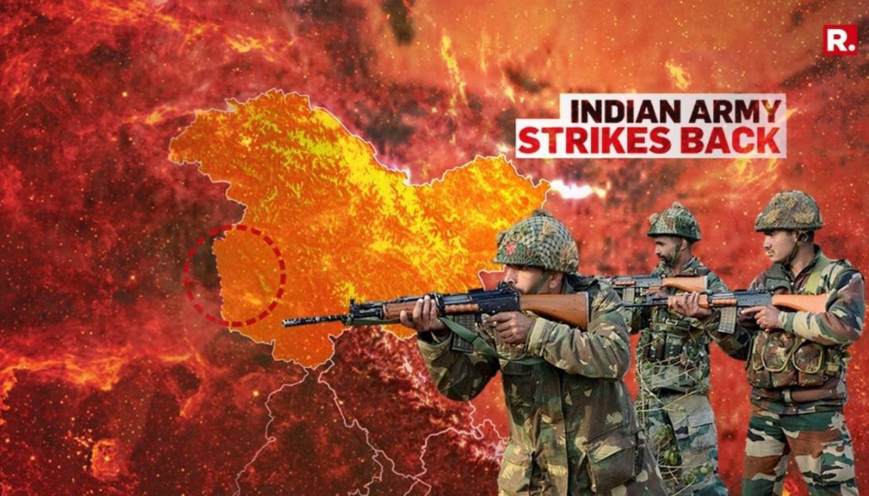 INDIA STRIKES BACK