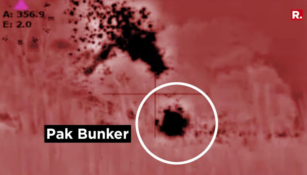 WATCH: INDIA DECIMATES PAK BUNKER
