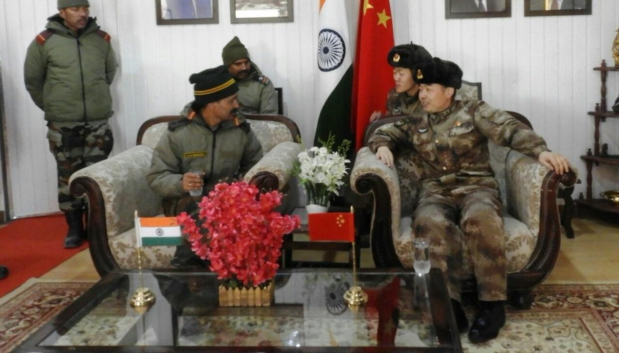 INDIA-CHINA BORDER PERSONNEL MEET
