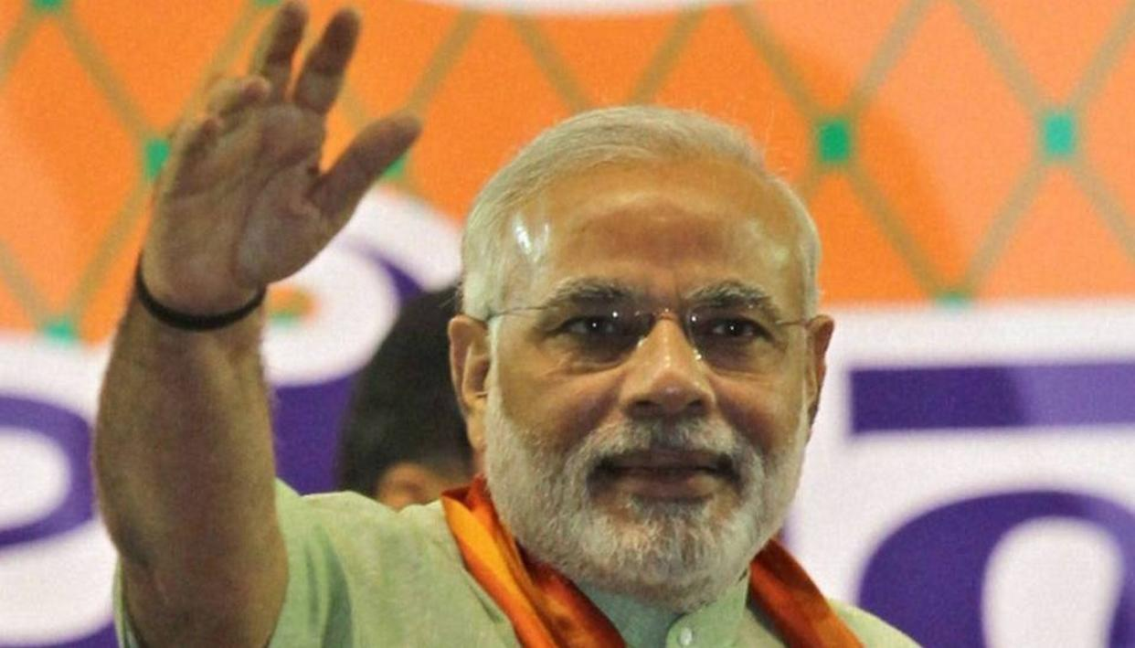PM TO VISIT TRIPURA TWICE FOR CAMPAIGN