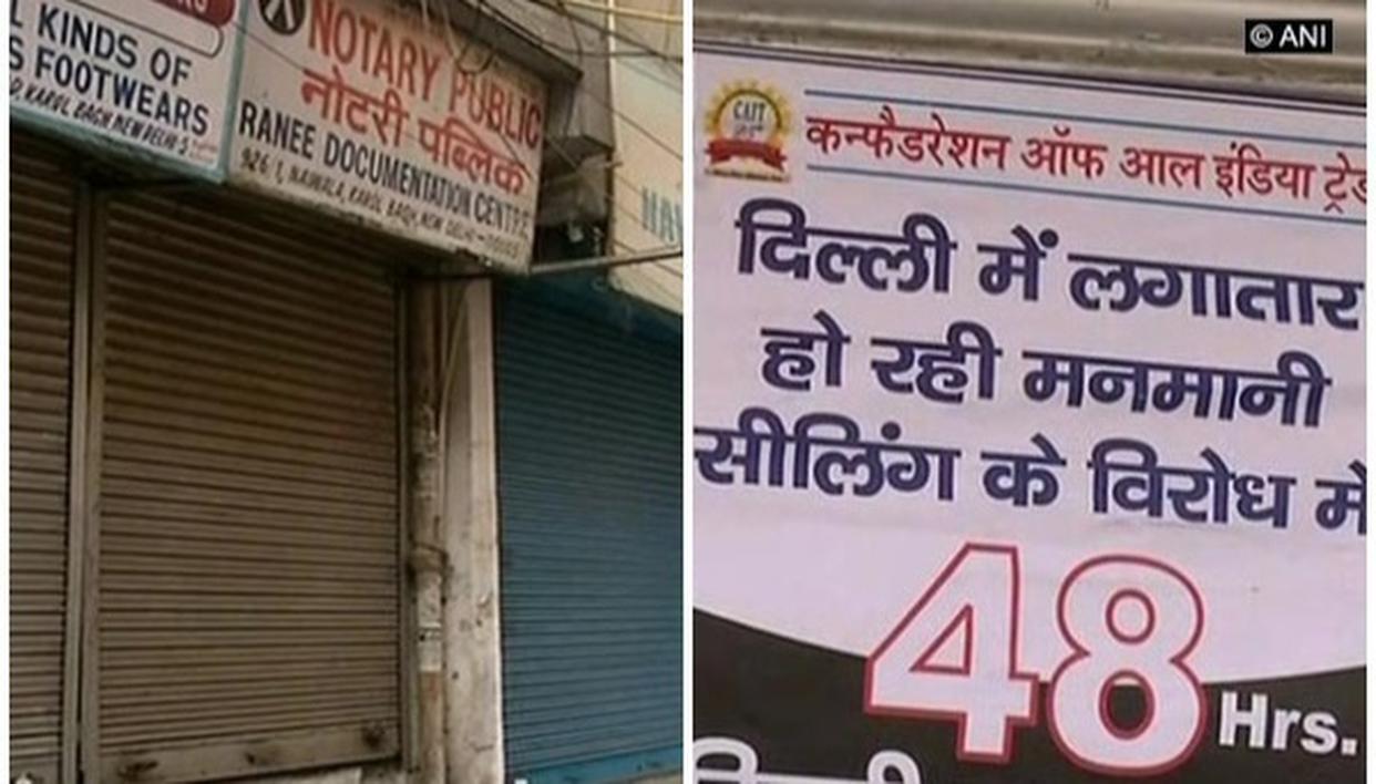 48 HOUR SHUTDOWN IN DELHI