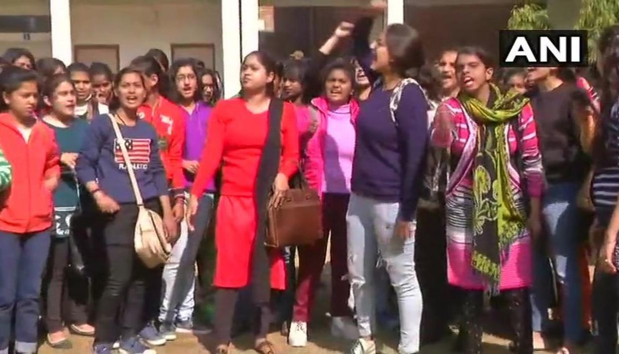 DU STUDENT ALLEGES SEXUAL HARASSMENT