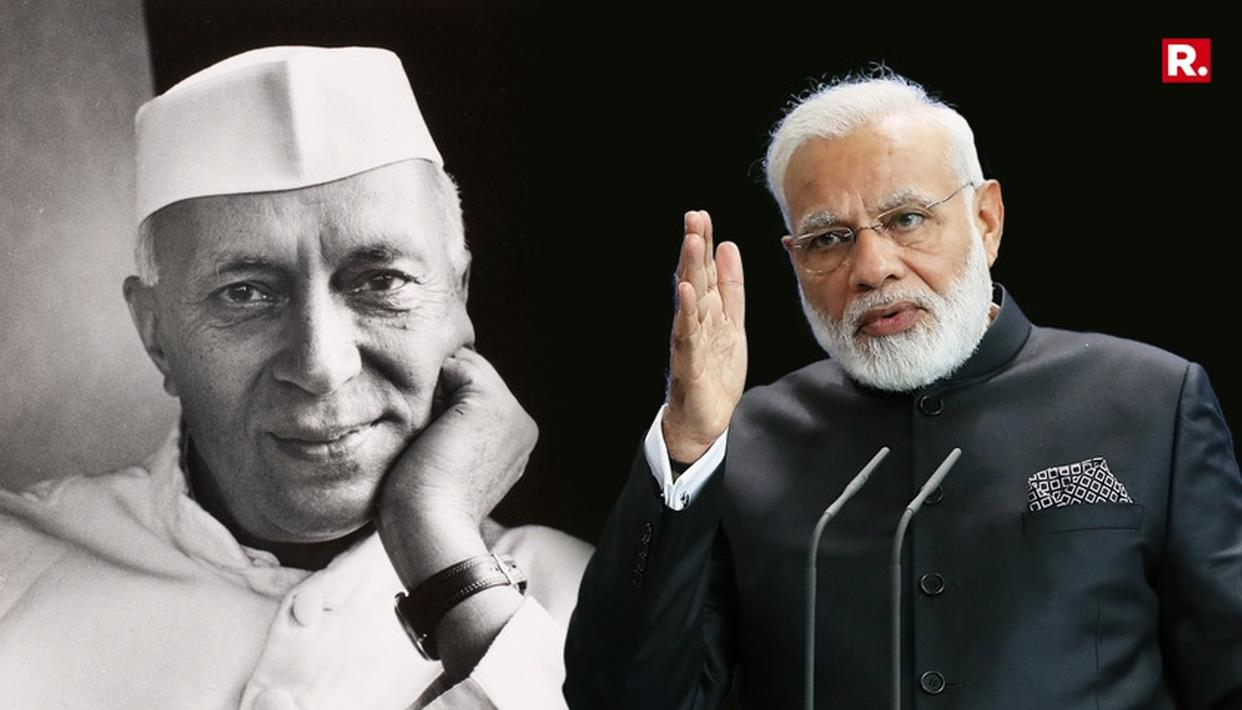 PM MODI: DEMOCRACY NOT NEHRU'S GIFT