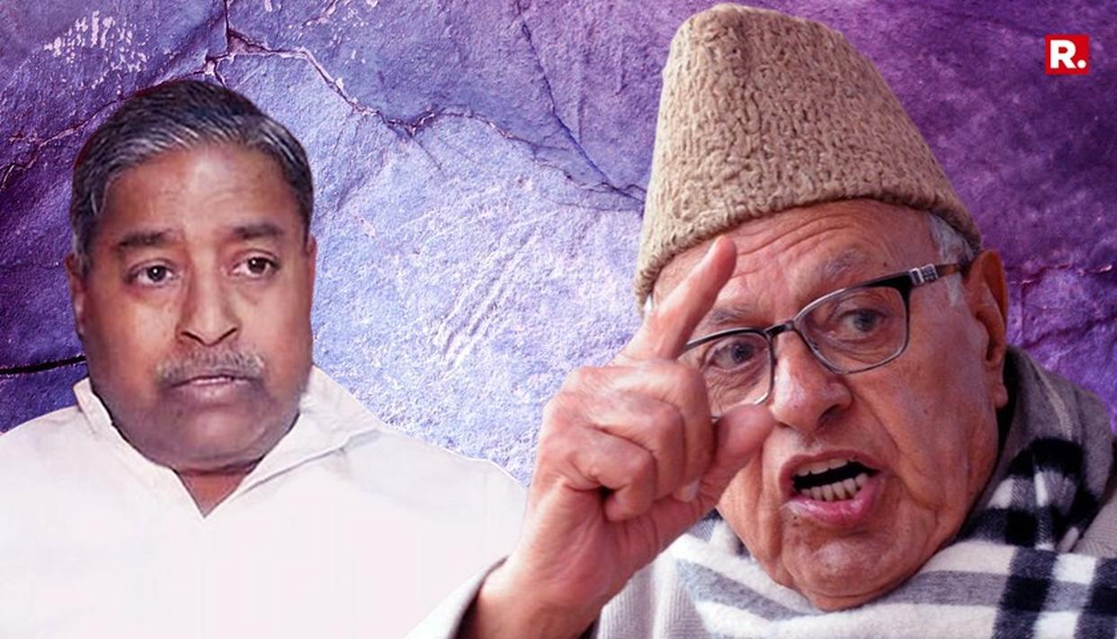 फारुख अब्दुल्ला ने कहा, ''क्या ये कटियार के बाप का देश है'' देखें पूरा VIDEO