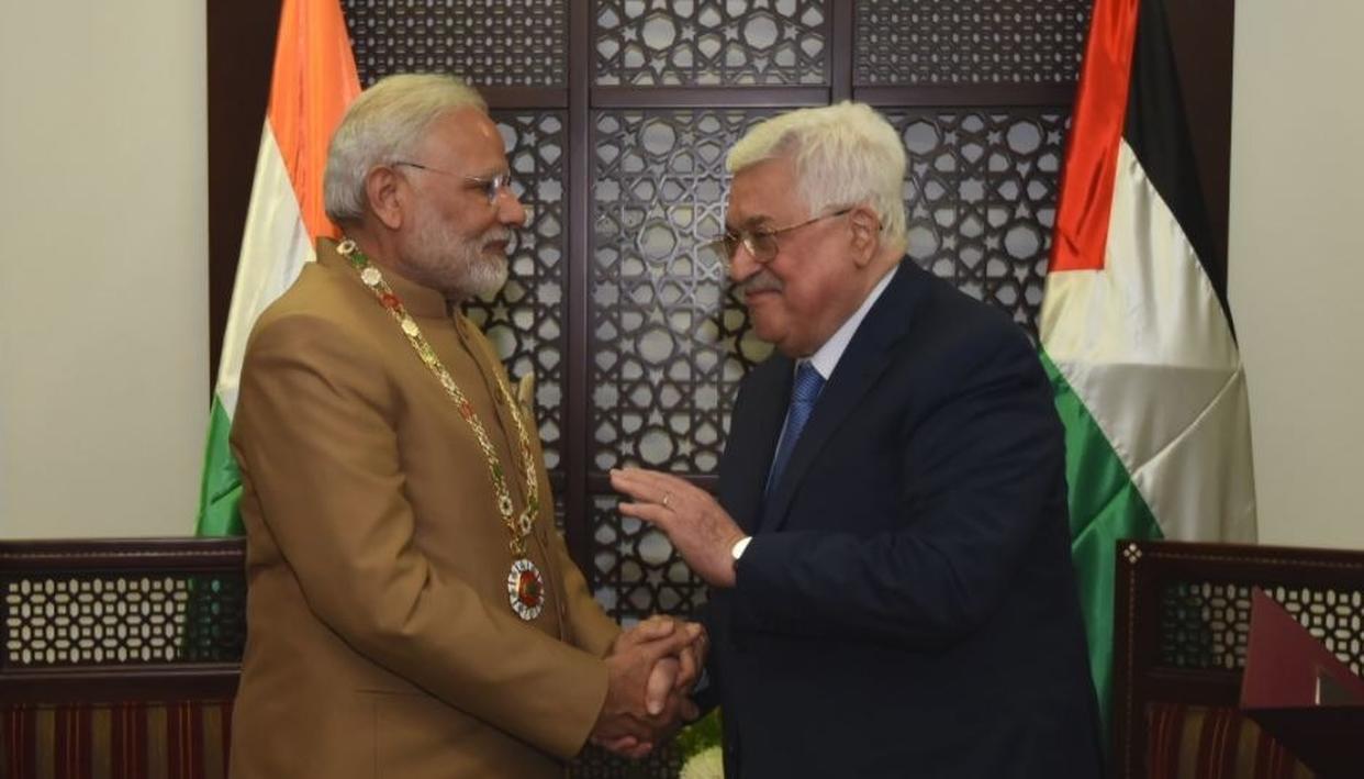 WATCH: PM MODI'S FULL ADDRESS IN PALESTINE