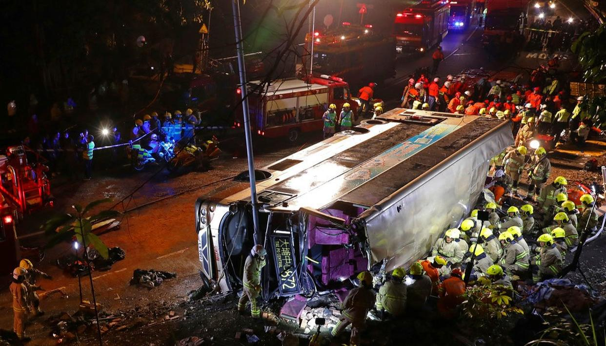 HONG KONG BUS CRASH CLAIMS 18