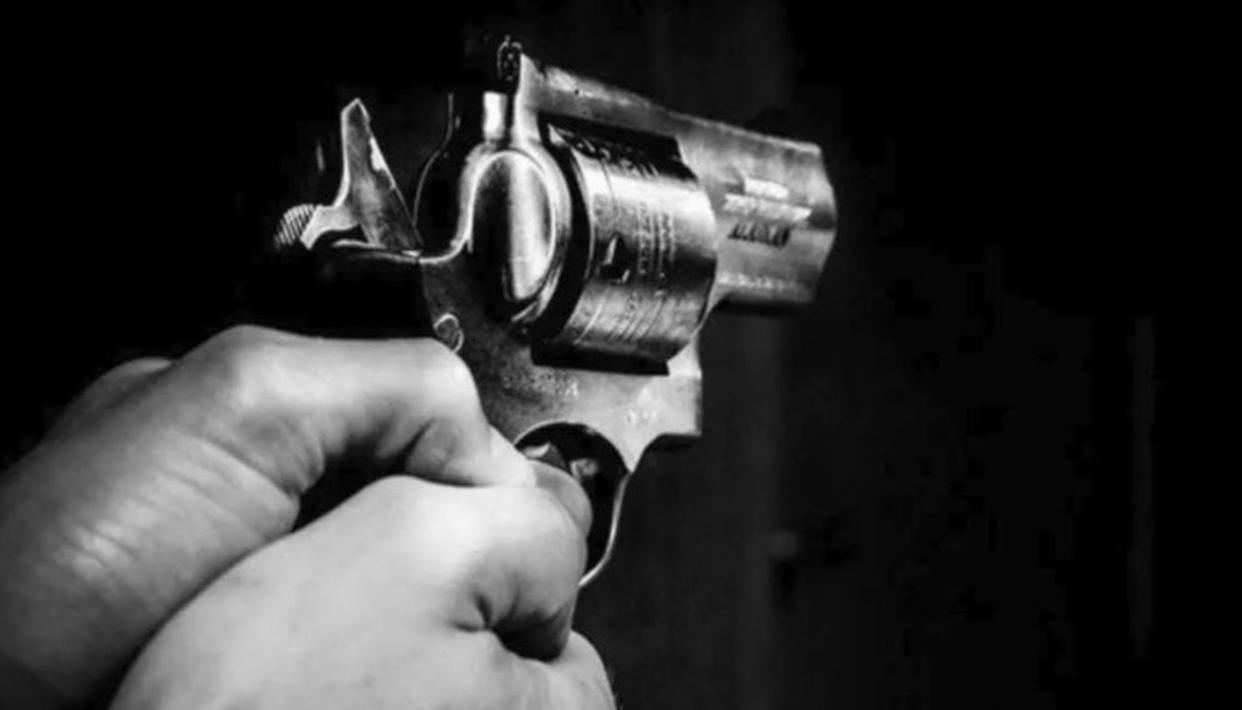 STUDENT SHOOTS HIMSELF IN UP