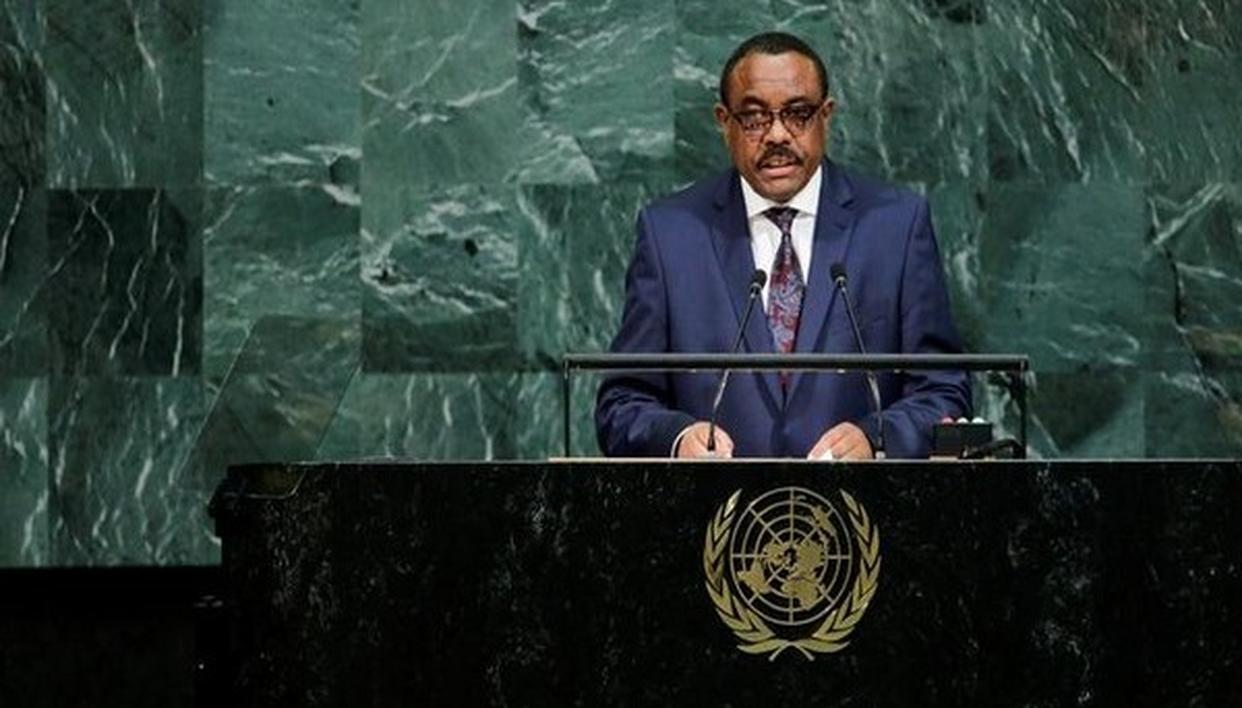 ETHIOPIAN PM RESIGNS AMID TURMOIL