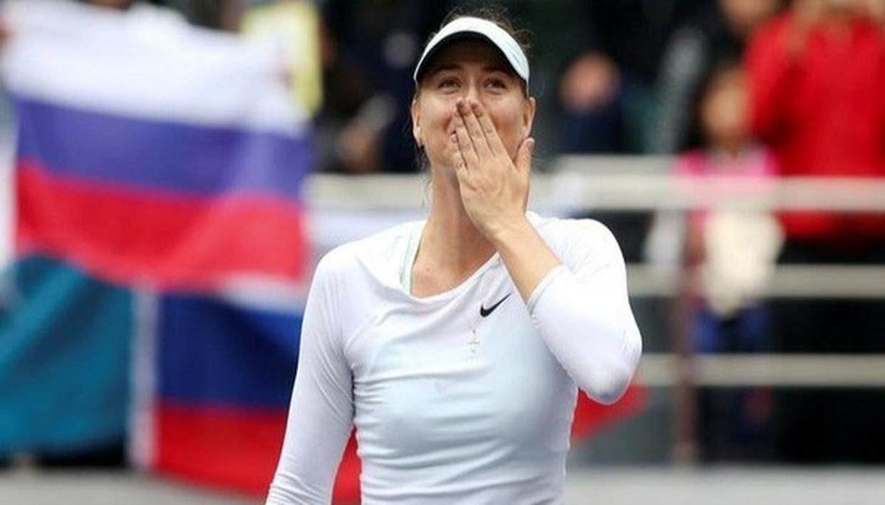 SHARAPOVA PULLS OUT OF DUBAI OPEN