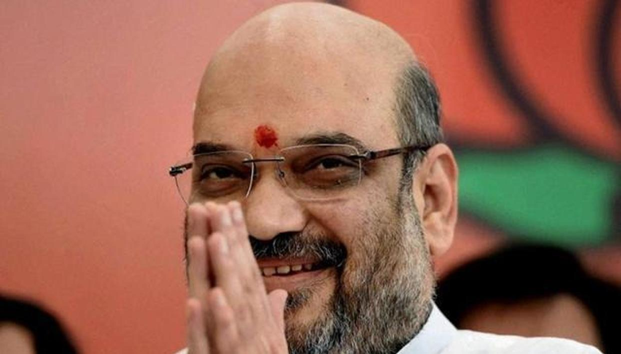 'BJP MOVING AHEAD TO FULFILL DREAM OF NEW INDIA'