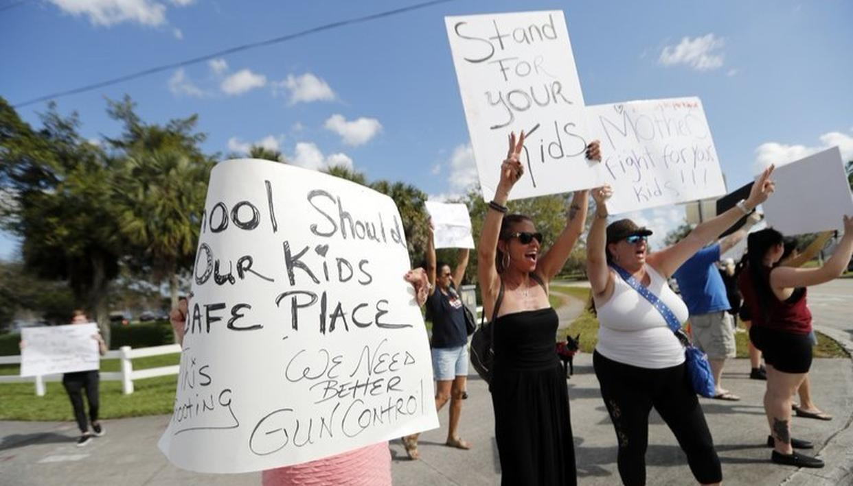 FLORIDA SURVIVORS LASH OUT AT TRUMP