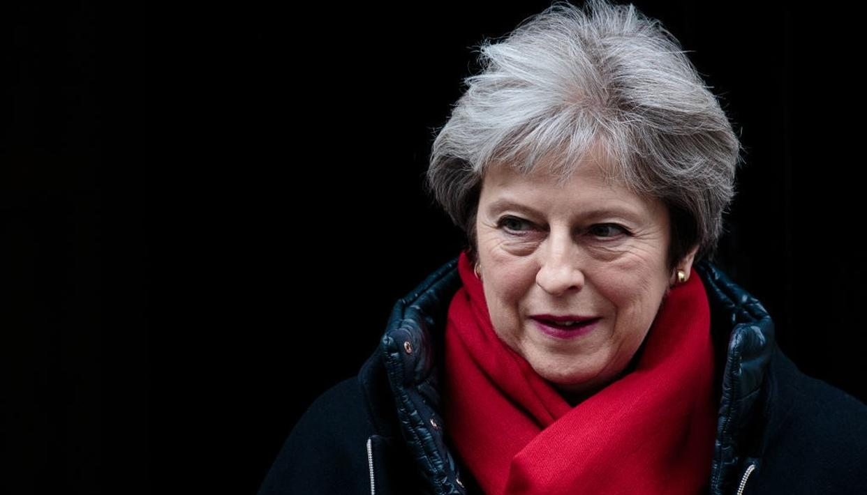 MAY SQUANDERS BREXIT COMPROMISE