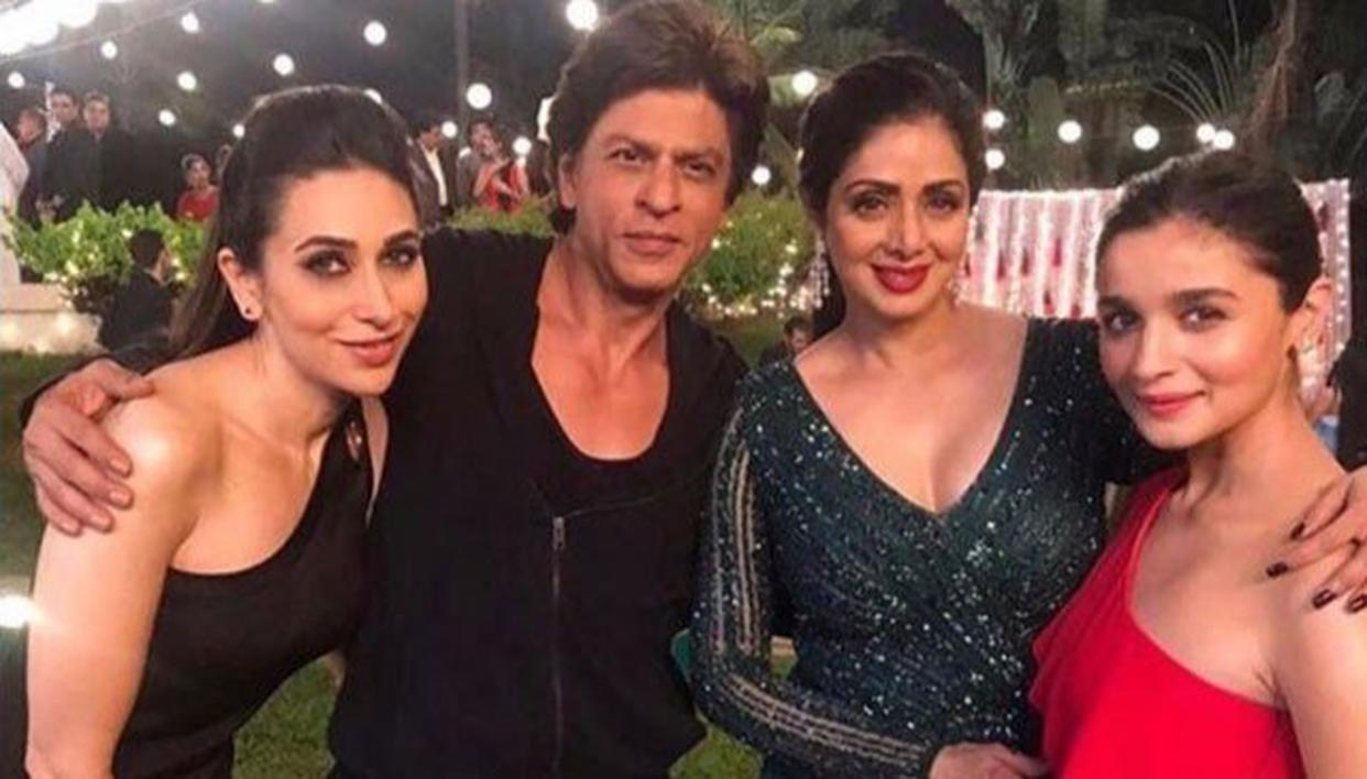 SRK POSTS CRYPTIC TWEET AFTER SRIDEVI'S FUNERAL