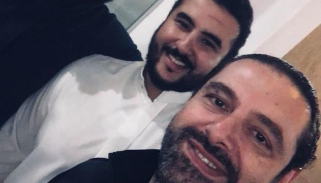 LEBANON PM SHARES SELFIE WITH SAUDI PRINCE