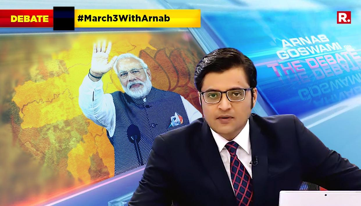 HIGHLIGHTS ON #March3WithArnab