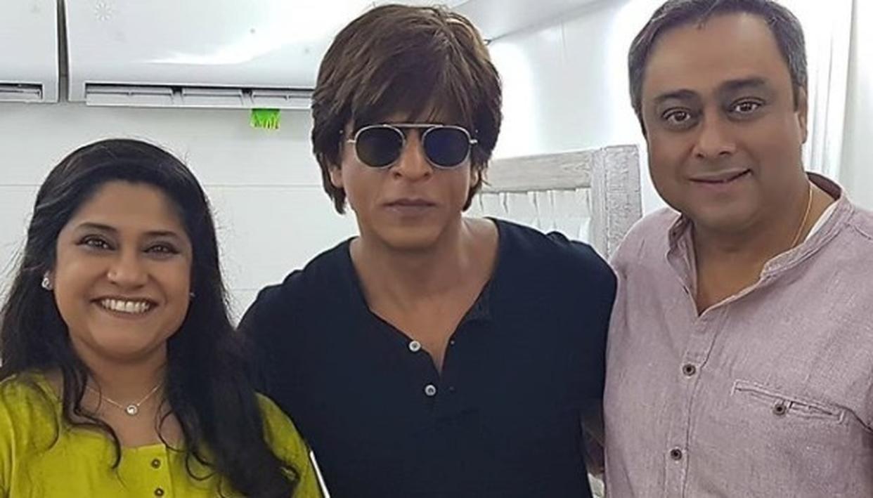 SRK, RENUKA IN ONE FRAME